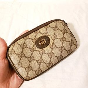 Gucci authentic vintage accessories pouch